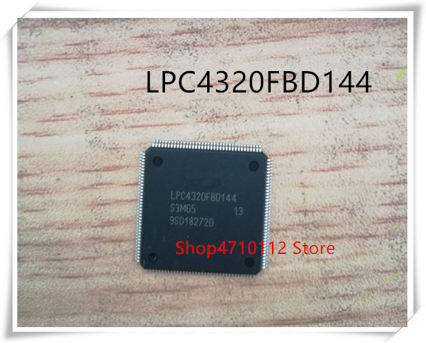 NEW 1PCS LOT LPC4320FBD144 LPC4320 QFP 144 IC
