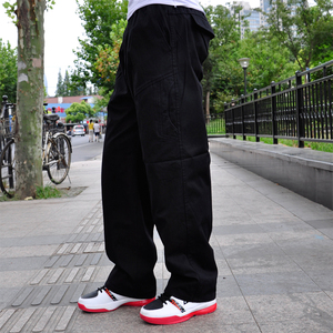 Image 2 - סתיו וחורף חדש מקרית גברים של מכנסיים באיכות גבוהה אופנה רב כיס כותנה סרבל בתוספת שומן גדול גודל 6XL מכנסיים