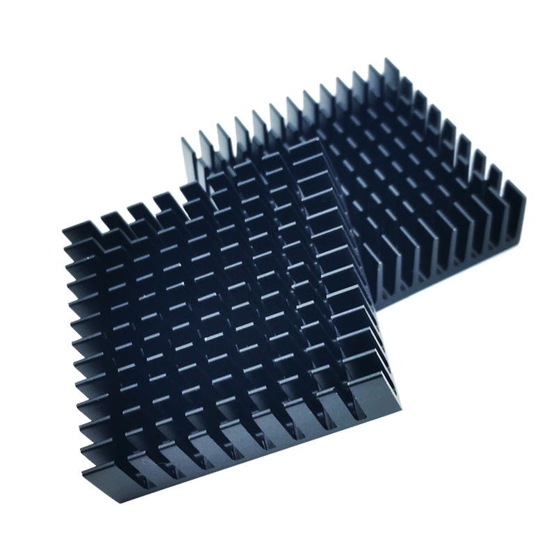 Купить с кэшбэком 10pcs/lot 40 x 40 x 11mm 40mm Heat sink Aluminum Heatsink Cooler For Led Light
