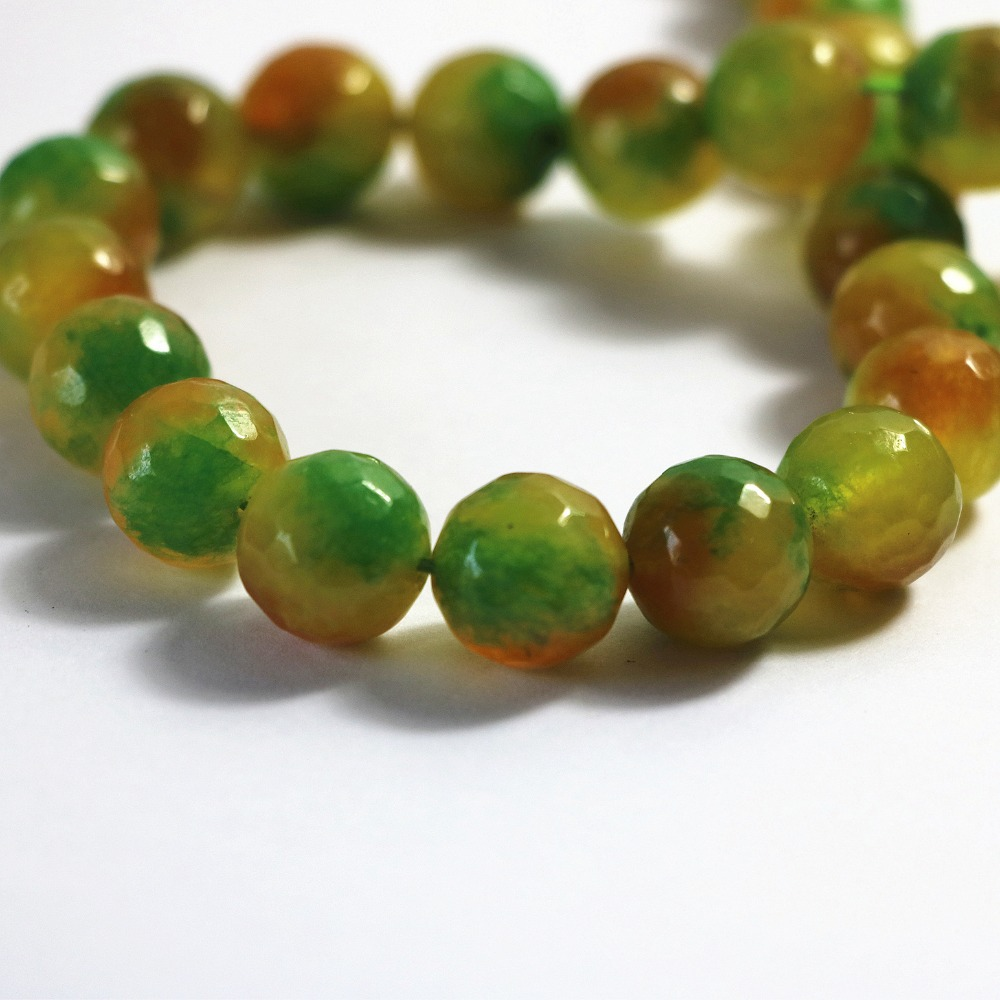 lot de 30 perles 6 mm agate d/'arbre gemme naturel