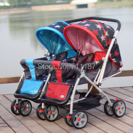 Aliexpress.com : Buy Competitive Price Children Double Buggy,Pram ...