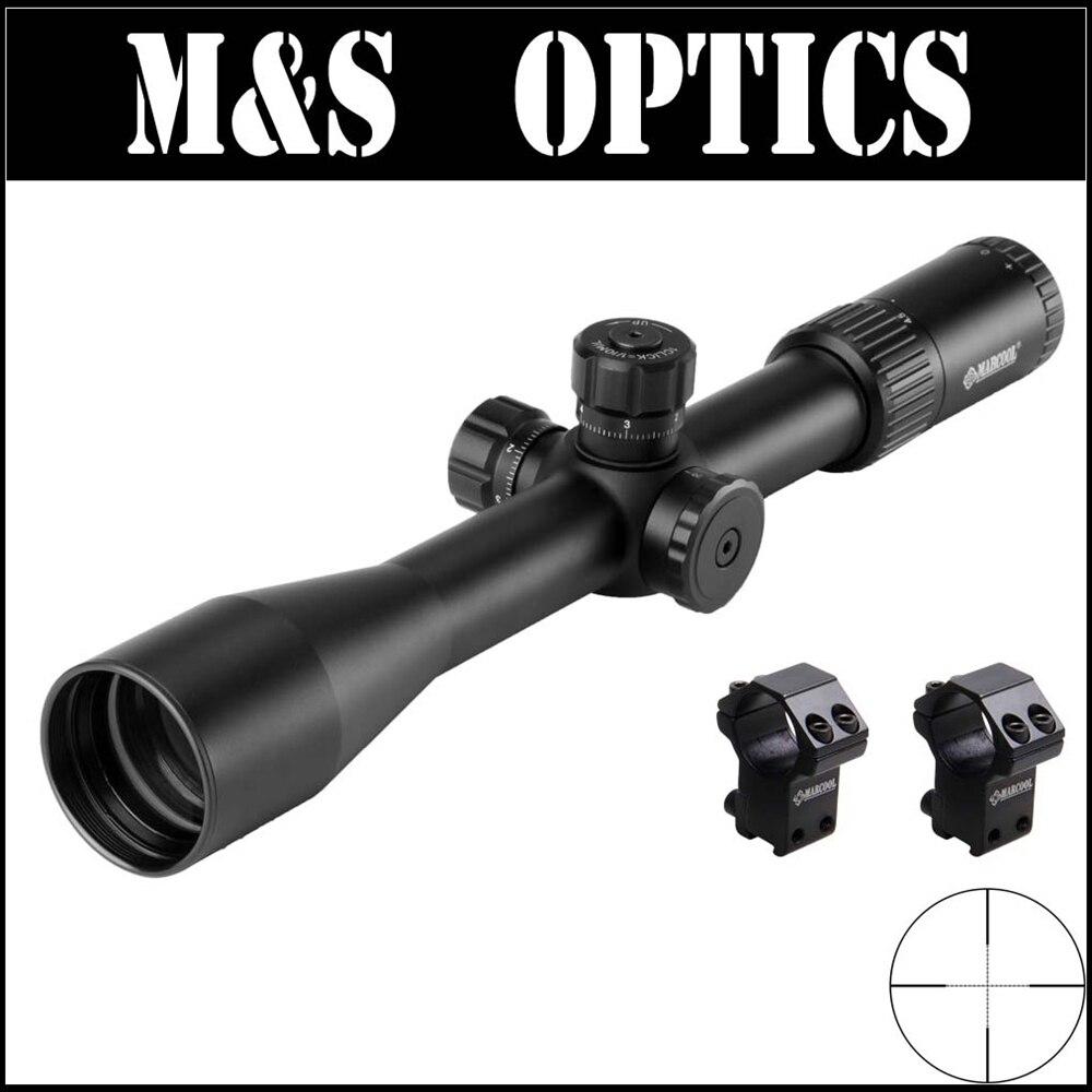 MARCOOL ALT Optique Soupir 4.5-18X44 SF RIFL Side Point Airsoft Pistolets À Air Fusil de Chasse de Tir avec montages Fabriqués En Chine