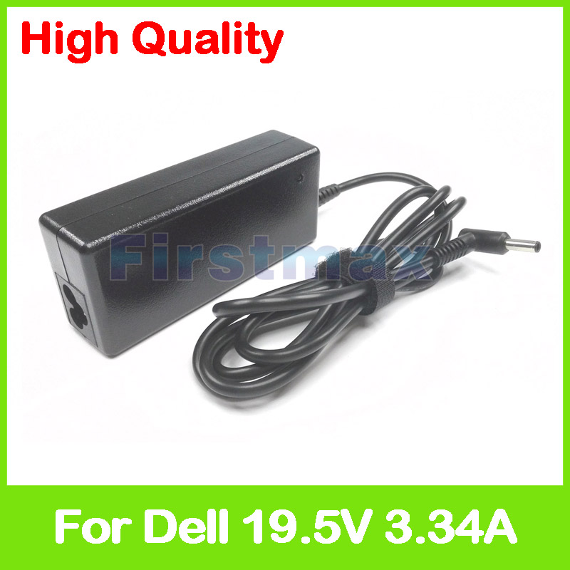 19.5V 3.34A 65W laptop AC power adapter charger for Dell Inspiron 15 5558 5565 5566 5567 5568 5570 5575 5578 5579 7558 7560 7568 image