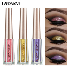 HANDAIYAN Pigment Glitter Eyes sombra pigmento Liquid Purple Eyeshadow Girl  Shimmer 5416d684153b