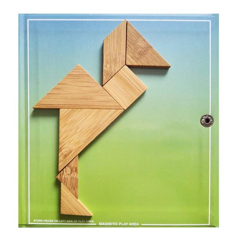 150/240 Puzzles Magnétique Voyage Tangram Un Enfants Éducatifs - Jeux et casse-tête - Photo 5