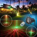 Laser Projector Lamp for Garden IP65 Waterproof Outdoor Decoration Dynamic Firefly Starry Lawn Christmas Party Landscape Light