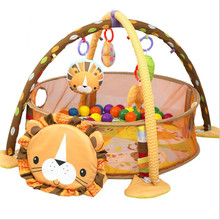 Baby Playpens Multifunctional fitness rack Crawl Play mat Children Early childhood education puzzle Kids baby toys 0 12 months