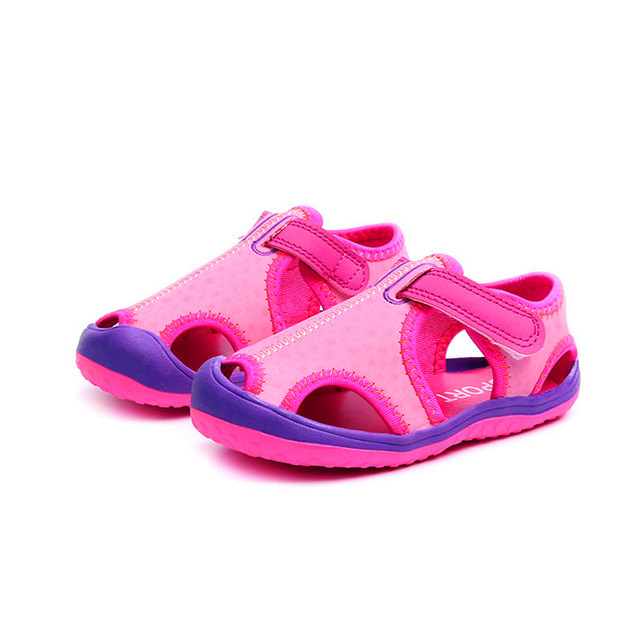 2a47d639e Comfy Kids New Arrivals Outdoor beach child boys sandals swift-water shoes  easy on flat with fashion boys kids sandals for girls