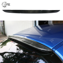 Carbon Rear Roof Spoiler Wing RX8 Fiber Window Lip Add on Tuning Part Body Kit For Mazda (All Model)