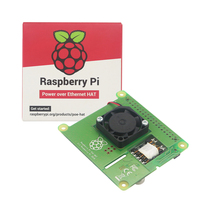 New Raspberry Pi PoE HAT Add on Board with Control Fan PoE Hat Expension Board for Raspberry Pi 4 Model B / 3B+ Plus / 3B