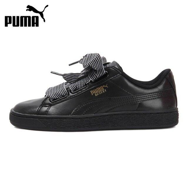 sports shoes 4f674 27913 Nueva llegada original 2018 Puma cesta del corazón mujeres de wn Zapatillas  de skateboarding sneakers