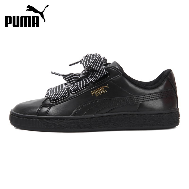 2ffcd1f2775029 ... Original New Arrival 2018 PUMA Basket Heart Wns Womens Skateboarding Shoes  Sneakers-in Skateboarding from ...