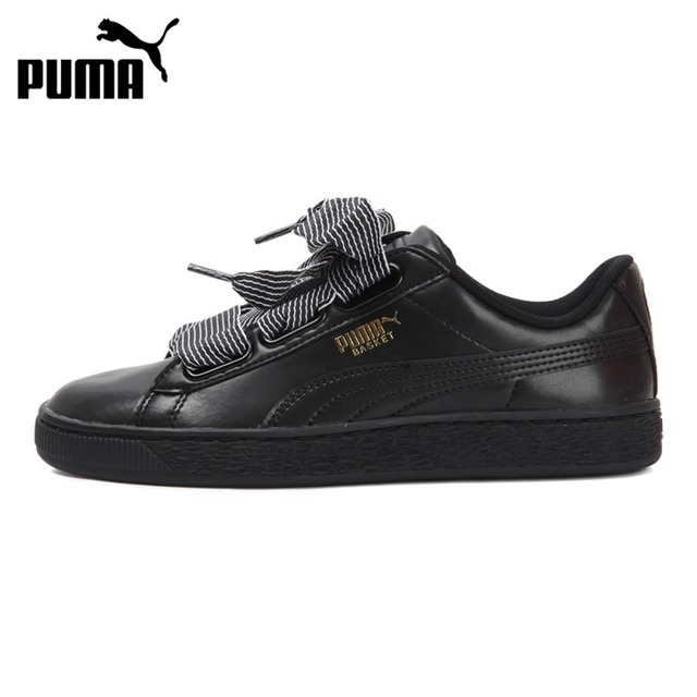san francisco 33ae5 50742 Aliexpress.com : Buy Original New Arrival 2018 PUMA Basket Heart Wn's  Women's Skateboarding Shoes Sneakers from Reliable skateboarding shoes  sneakers ...
