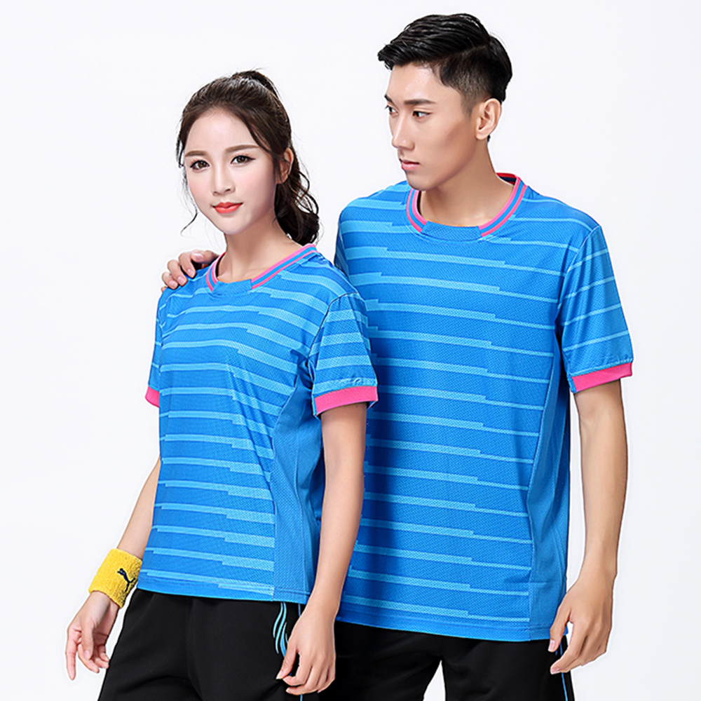 New Sports Badminton wear shirt Women/Mens , sports Tennis t shirts , Table Tennis shirts, Quick dry running shirt 8808