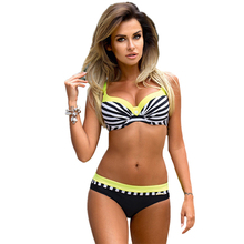 Ariel Sarah Bikini Set Halter Swimsuit Bathing Suit Women Push Up Bikini Plus Size Swimwear XXL Sexy Maillot De Bain