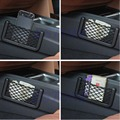 Preto Car Auto Cadeia Mesh Bag Bolsa De Armazenamento Para Celular Gadget Cigarro New 1 Pc