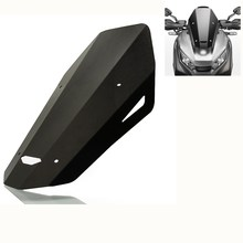 Motorcycle Accessories Covers Windshield Windscreen For Honda xadv 750 2018 2019 CNC Aluminum Black Clear