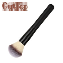Graceful Professional Cosmetic Makeup Brush Foundation Powder Blusher Brush Soft Man-made Fiber Black Handle JUN8