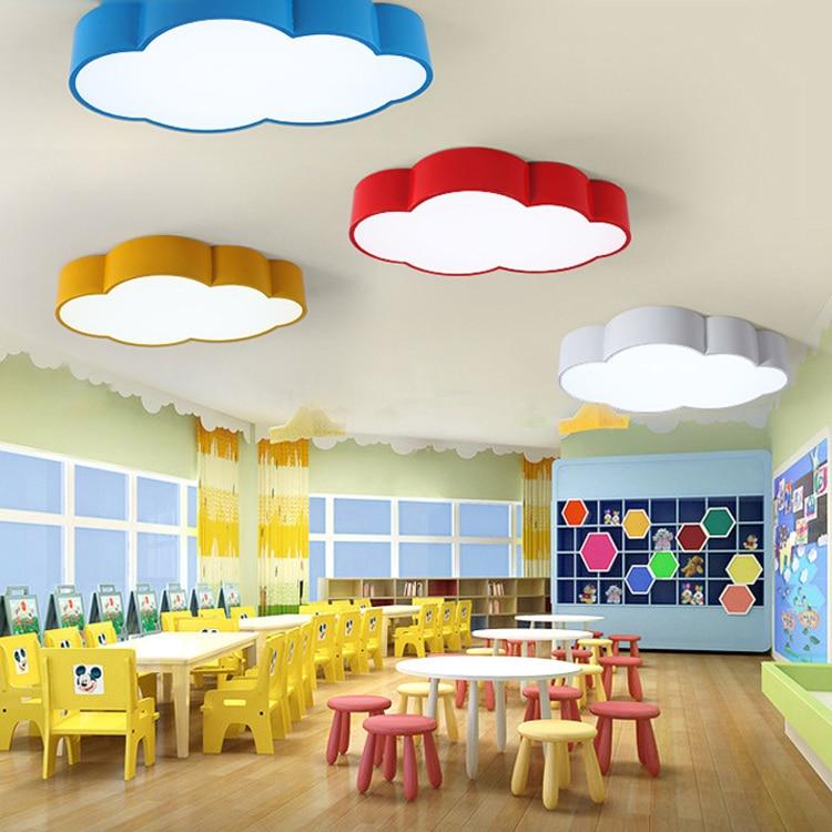 Lovely Cartoon Ceiling Lamp Light For Kids Children Bedroom Modern Kids Bedroom Lighting Fixture Led Kids