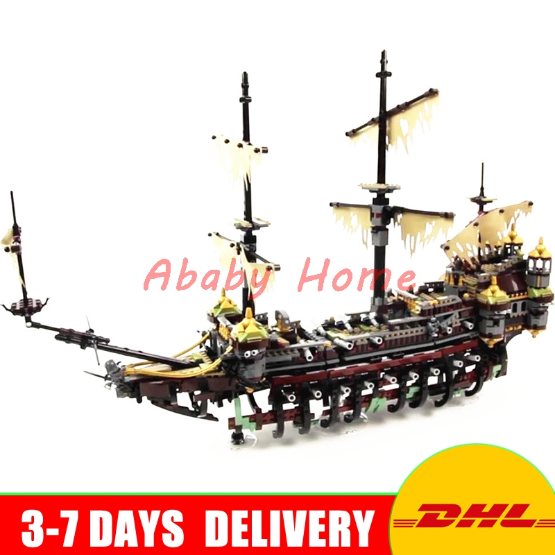 Bela 10680 2324pcs Pirate Ship The Silent Mary Bela Building Block Compatible Lepin 16042 71042 Brick Toy Gifts lepin 22001 pirate ship imperial warships model building block briks toys gift 1717pcs compatible legoed 10210