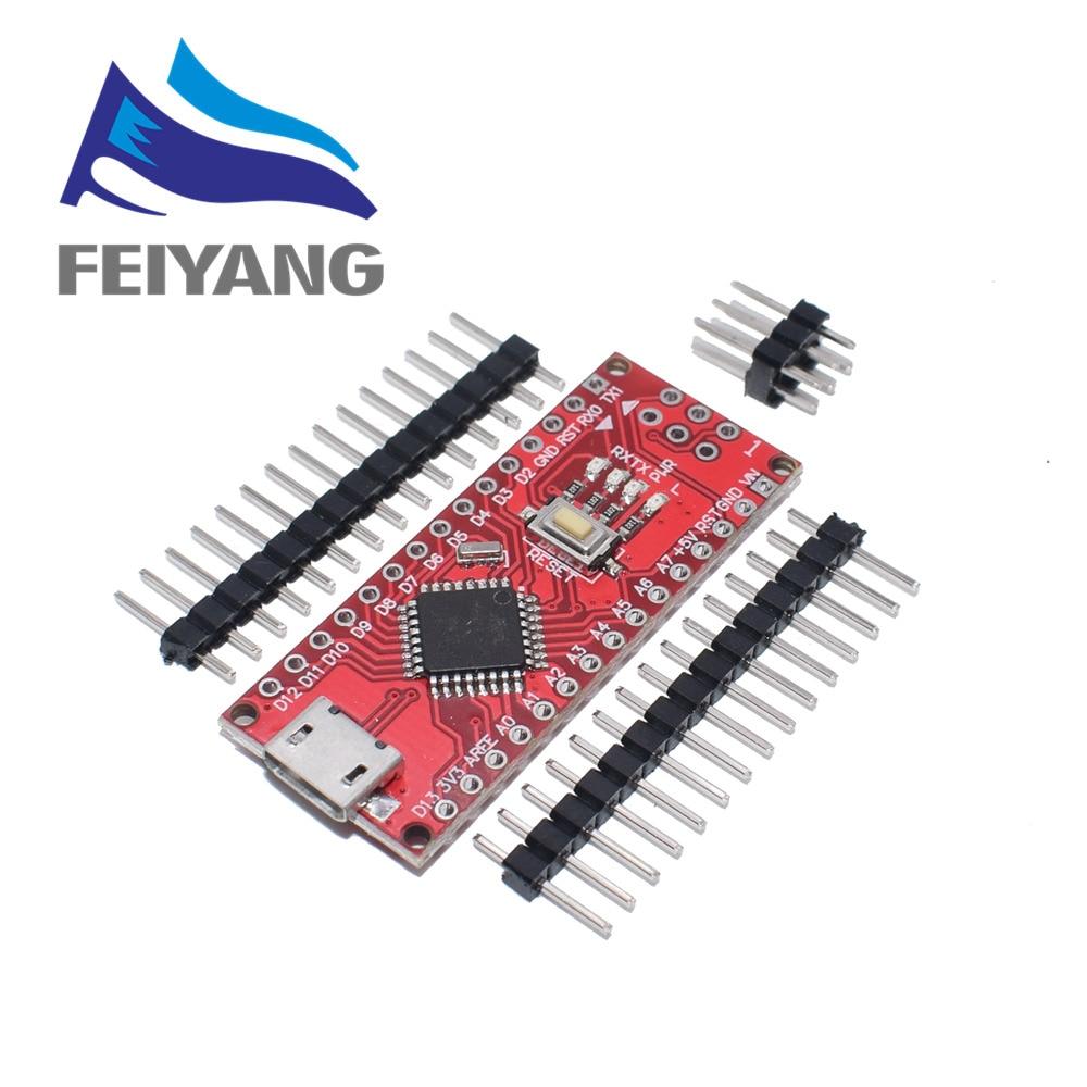 Nano z kontrolerem Nano 3.0 kompatybilnym z bootloaderem dla arduino CH340 dysk usb 16Mhz Nano v3.0 ATMEGA328P/168 P 4