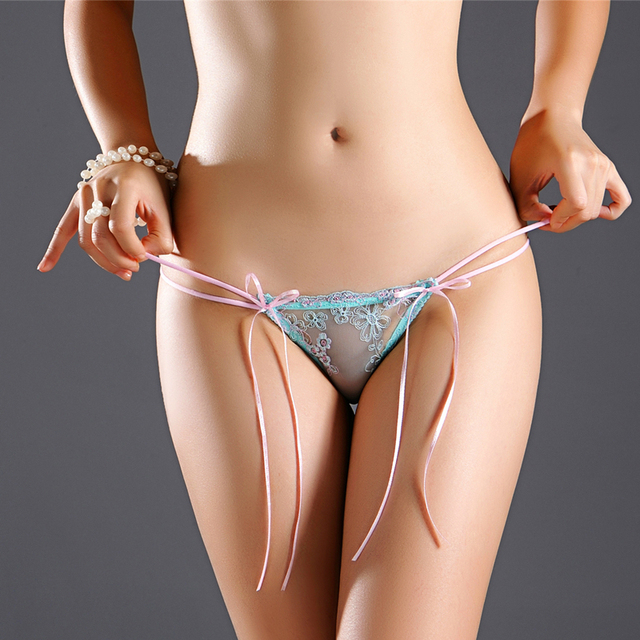 188146cb9bb Ladies Elastic Transparent Women G String Sexy Underwear Fashion Lace  Briefs Thongs Lingerie Hollow Panties
