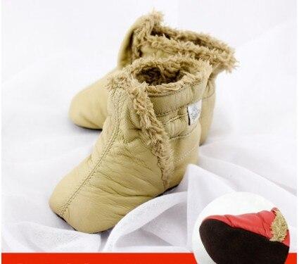 TipsieToes brändi mood kõrgekvaliteediline ehtne nahast villane - Beebi kingad - Foto 2