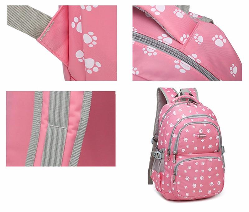 Fashion kids book bag breathable backpacks children school bags women leisure travel shoulder backpack mochila escolar infantil 10