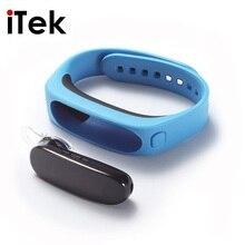 TK54 Смарт Браслет Съемная Bluetooth наушники Группа Smartband Водонепроницаемый сна Мониторы для IOS Android PK Xiaomi