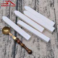 5pcs Colorful Manuscript Sealing Seal Wax Sticks With 1 Sealing Spoon For Postage Letter Stamps