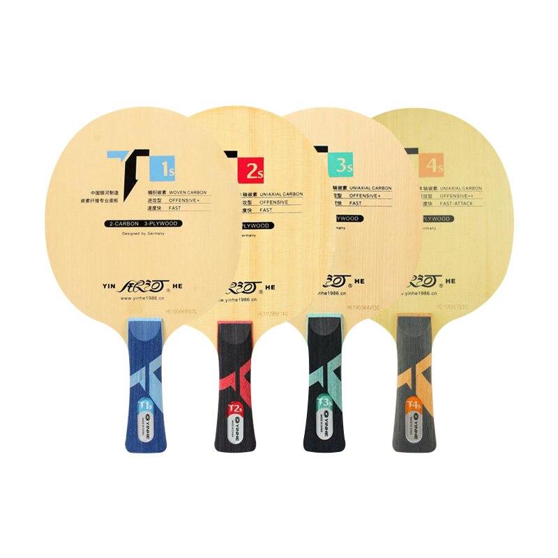 Yinhe T1S T-1s T2S T3S T4S Cypress lame de Tennis de Table en carbone pour raquette 40 + nouveau matériau balles