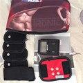 Treinamento muscular abdominal Ab Tronic X2 ems estimulador massageador estimulando toning magro dieta de perda de peso de fitness cinto compressor