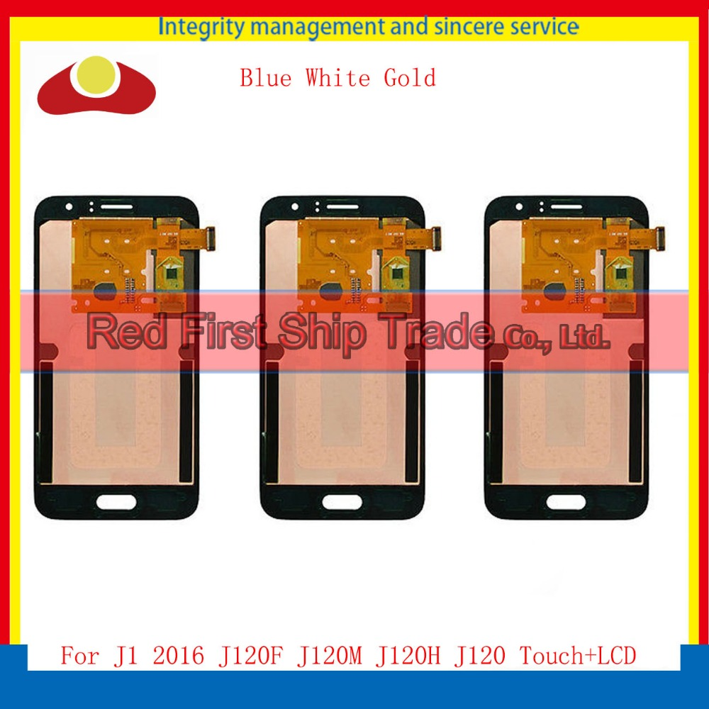10Pcs/lot DHL For Samsung Galaxy J1 2016 J120F J120A J120M J120 Full Lcd Display Touch Screen Digitizer Sensor Assembly Complete brand new for samsung j1 lcd display with touch screen digitizer for samsung galaxy j1 j120f j120m j120h sm j120f lcd 3 color
