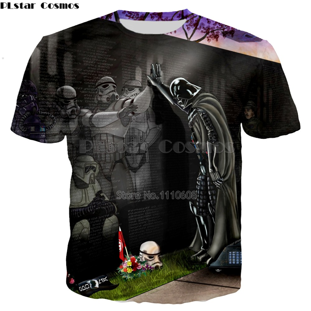 YX GIRL T shirt Homme Camisetas Hombre Novelty Star Wars A New Hope Robot Men T-Shirts T ...