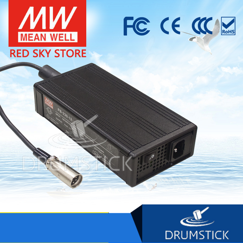 Original MEAN WELL PB-230-48AD1 57.6V 4A meanwell PB-230 57.6V 230W Single Output Battery Charger mean well original pb 120n 54p 55 2v 2 2a meanwell pb 120n 55 2v 121 44w power supply or battery charger