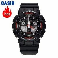 Casio uhr G-SHOCK männer quarz sport uhr Stoßfest und wasserdichte multi-funktion flut männlichen g schock Uhr GA-100