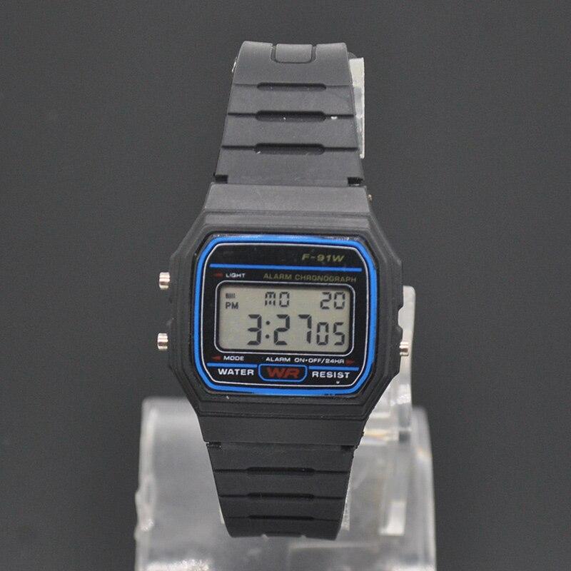 f8714f78663 Moda LED Eletrônico Relógios de Silicone Homens Mulheres Crianças Relógios  Digitais Estudante Estilo Casual Meninos Relógio de Pulso relogio feminino  em ...