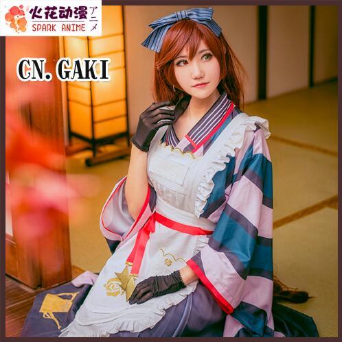 Anime Rozen Maiden Suiseiseki 15th Anniversary Taisho Kimono Gorgeous Dress Halloween cosplay costumes for women