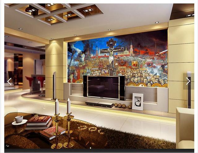 Customized 3d photo wallpaper 3d TV wall murals wallpaper Religious