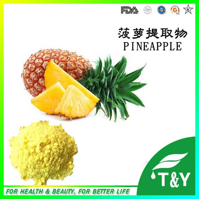 Natural puro Extracto de Piña Bromelina Polvo 100g