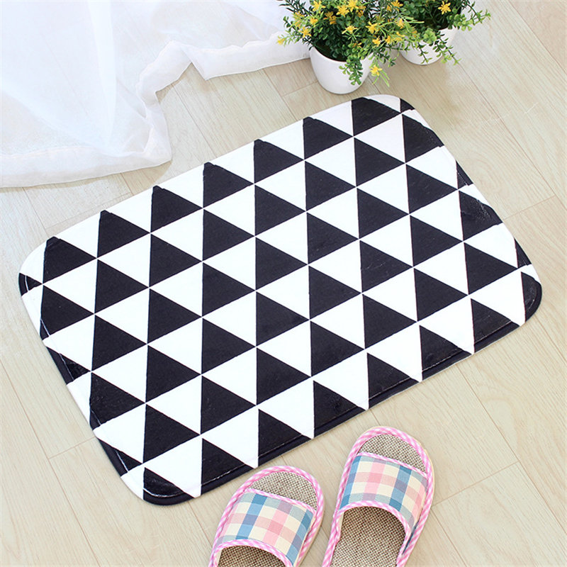 Cecil Vintage Style Floor Mats Geometric Doormats Modern Living Room Bathroom Kitchen Mat Outdoor Rugs And Carpets Tapete Cocina in Mat from Home Garden