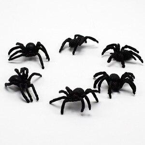 5/10 шт./набор, забавные гаджеты, имитация паука, игрушка, реалистичные, страшные красные глаза, Joking, новинка, трюк, поддельные жуки, реквизит на...