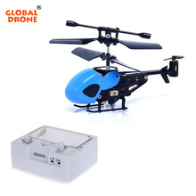 Global Drone RC Drone Pocket Aircraft 3.5CH Mini RC Helicopter Micro Infrared Helicopters with Gyroscope