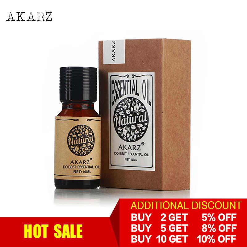 AKARZ Professional HOT SALE น้ำมันหอมระเหย aromatic สำหรับ diffusers น้ำมันหอมระเหย Face Body Skin Care นวด AROMA Oil