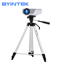 BYINTEK Projector Tripod,Original Portable Aluminum alloy Telescopic, for UFO P10 P12 P9 R15 R19 U20 R7 R9 SKY K1 K7 K2 K9