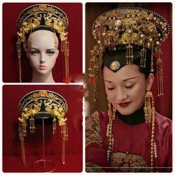 14 disegni Dinastia Qing Principessa o Imperatrice Cappello Mao Dian Calda Dramma Dei Capelli del Diadema Ruyi Reale Amore Zhen Huan disegni Fotografia