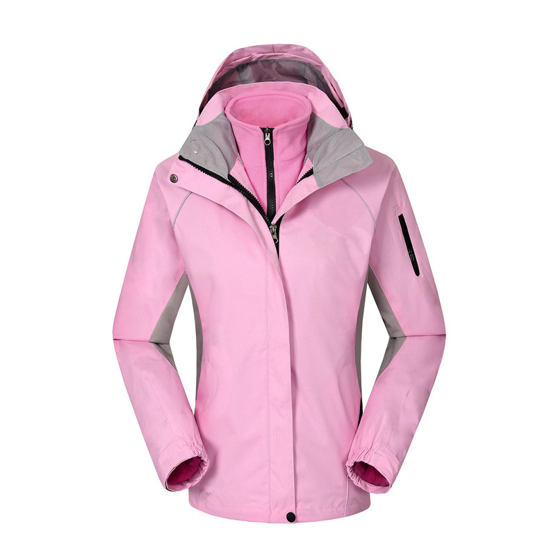2 pcs women spring winter down sportin snow coat candy color snow clothes Wind and Water