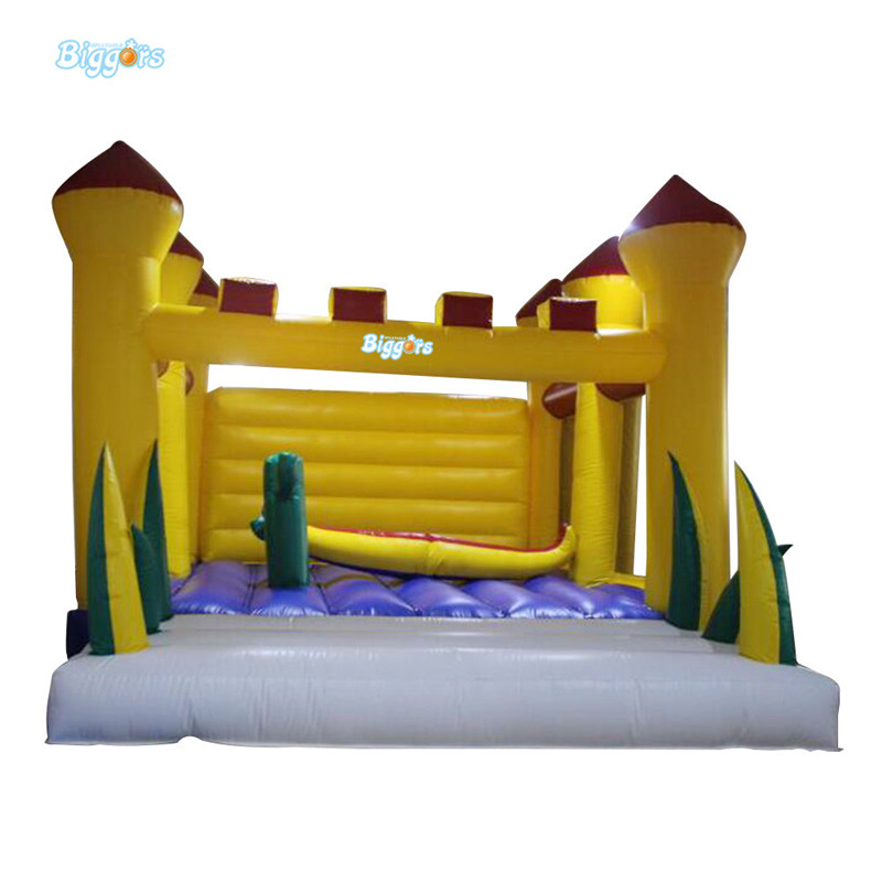 Commercial outdoor inflatable castle inflatable bounce house with blowers