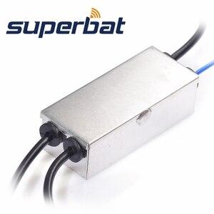 Image 3 - Superbat fm/am fm/am/dabカーラジオ空中コンバータ/スプリッタとmcxコネクタ用透明度CDAB7 AUTO