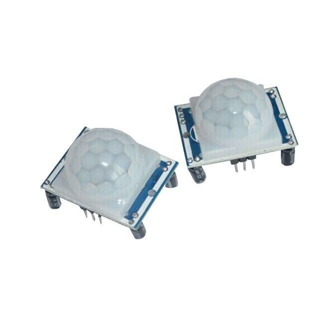 Free shipping High quality 2PCS HC-SR501 HCSR501 SR501 human infrared sensor module Pyroelectric infrared sensor imports probe